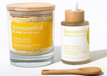 Design Ireland & Bareessential Salty Lemon Scrub and Glow Bundle Giveaway