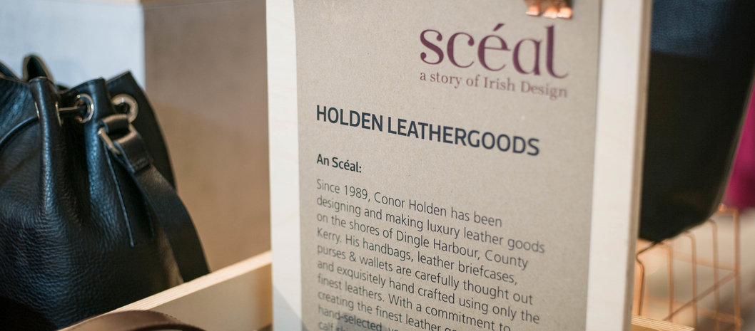 Scéal: a contemporary Irish fashion pop-up with stories to tell