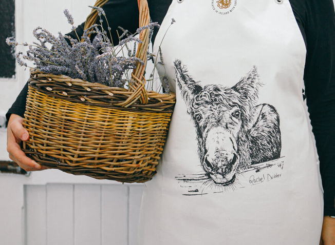 Design Ireland & Rachel Dubber M'asal Beag Dubh Donkey Apron and Two Sionnach (Fox) Cushion Covers Giveaway