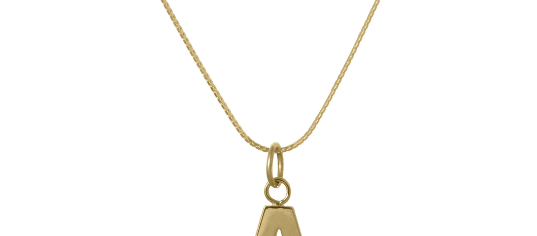 Object of Desire: Edge Only's Letter Pendant