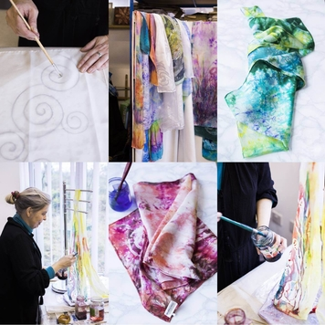 Silk Painting Taster Work Shop