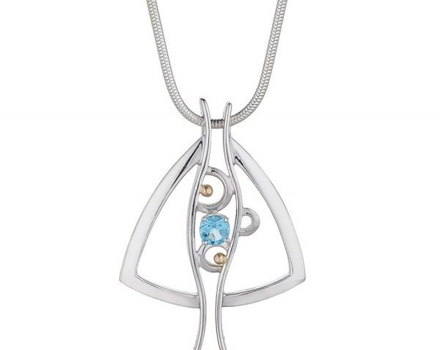 Declan Killen Contemporary Stone Set Pendant