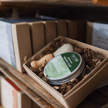 Airmid Green Man Wet Shaving Kit