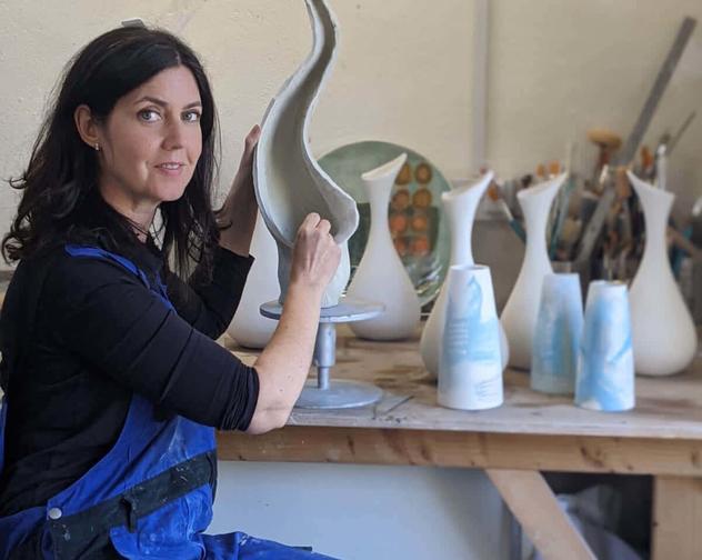 Making Michele Hannan Ceramics