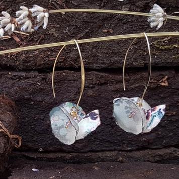 Álainn Summer Blush Double Drop Earrings