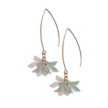 Long Lily Drop Earrings