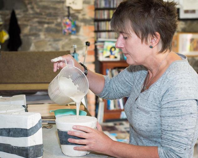1 Annita Mc Kee Ceramics Making process