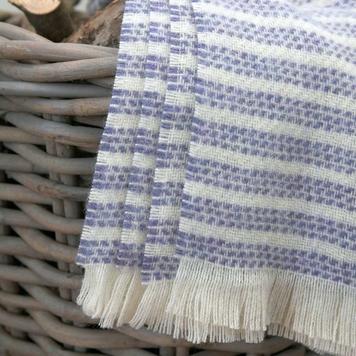 Indigo Kilkenny Striped Throw Blanket
