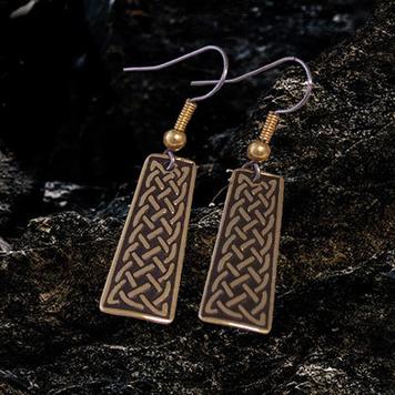 Celtic earrings Unity