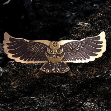 Owl Hairslide / Barrette