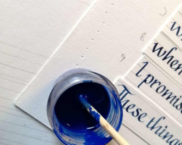 Soul Scribe Making Image
