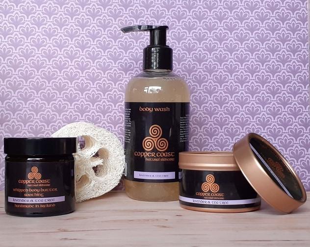 Lav gift set Copper Coast Natural Skincare
