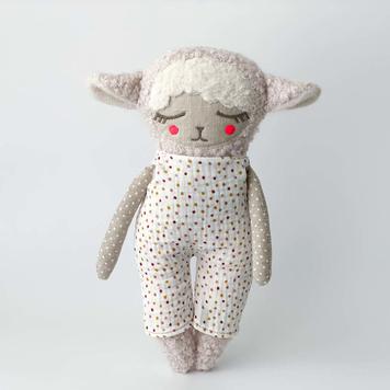 Lulu Lamb with Dungaree