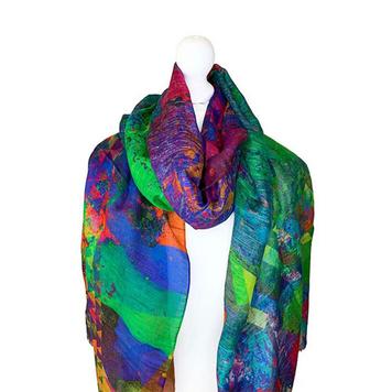 Linen Modal Silk Scarves