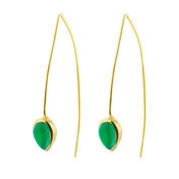 Coral Seadrop Earrings