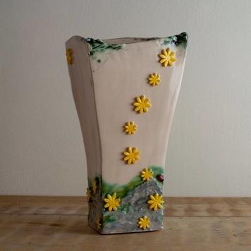 Yellow Burren Vase