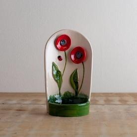 Poppy Candle Holder