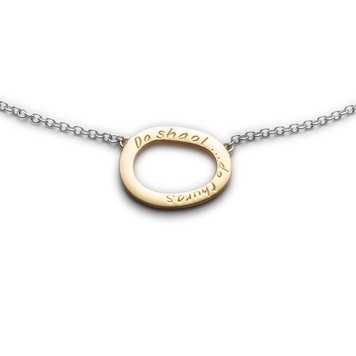 Your Life Gold and Silver Mini Pendant