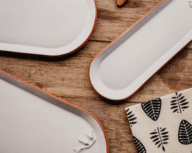 Jemma Millen Ceramics Serving Trays