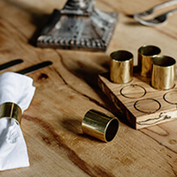 Brass Napkin Holder