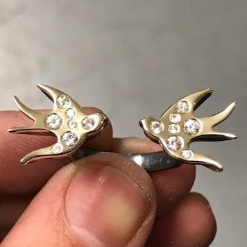 Swallows Tattoo Ring