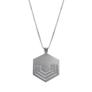 Hexagon Pendant Large