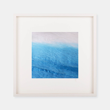 'Sea of Blue' - Silk Print Collection