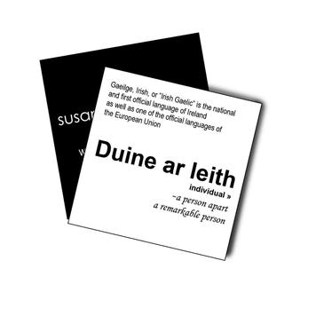 Empowerment 'Duine Ar Leith' Silk Scarf