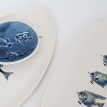 Oval Fish Platters