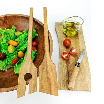 Beech Salad Spoons