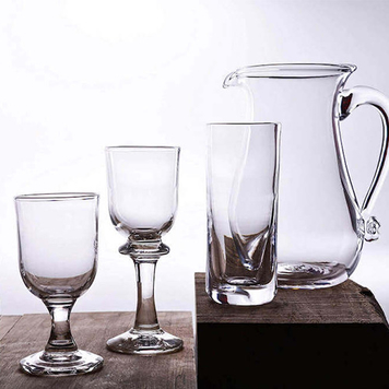 Jerpoint Glass Clear Glassware Collection