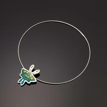 Luna Moth Pendant