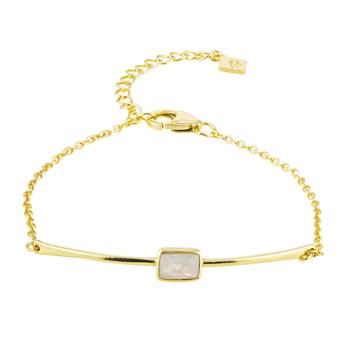Manhattan Moonstone Bracelet