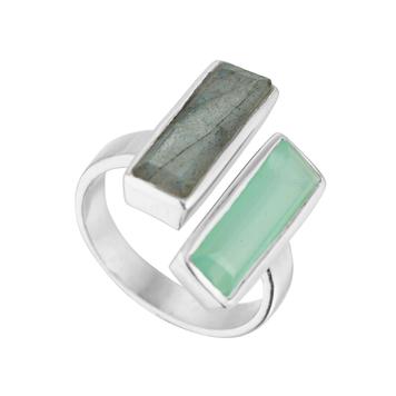 Manhattan Double Stone Ring