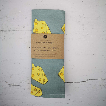 Tea towel: Cheese Design