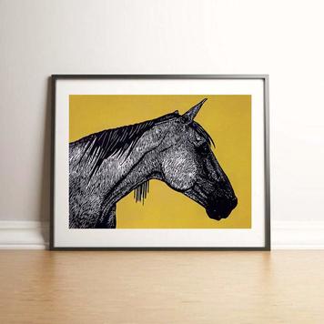 Dark Horse - Ochre