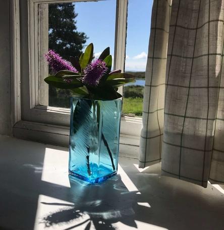 Sea Glass Vase Small