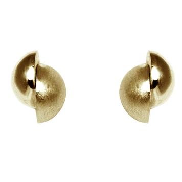 Celestial Orb Earrings 9ct Gold