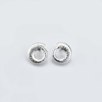 Croí Slogan Stud Earrings