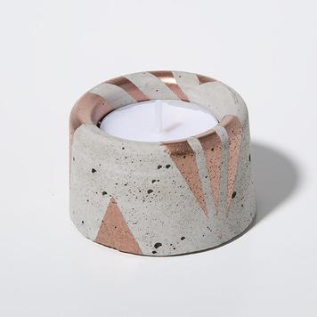Concrete Tealight Candleholder