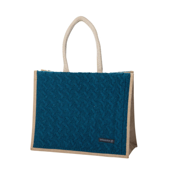 Wool Cashmere Panel Bag
