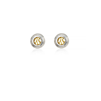 Woven Stud Earrings