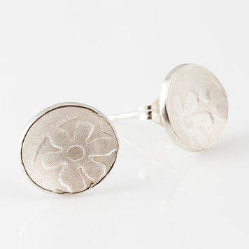 Imprint Stud Earrings