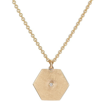 Diamond Hex Pendant