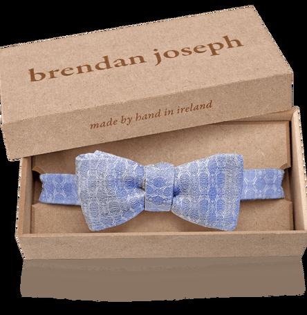 Linen and Silk Self-tie Bow Tie