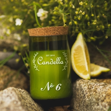 No. 6 Jasmine & Lemon - Green Collection