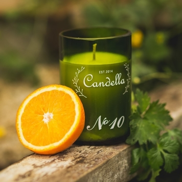 No. 10 Orange & Coriander - Green Collection