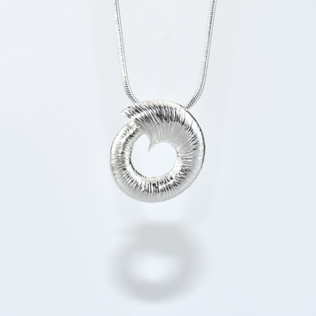 Croí Sliogan Silver Pendant