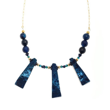Refraction Fan Necklace