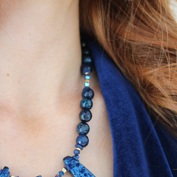 Refraction Statement Necklace
